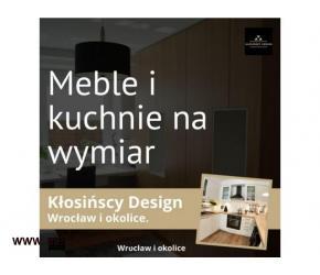 Meble na wymiar do Twojego domu od Kłosińscy Design - Wrocław i okolice